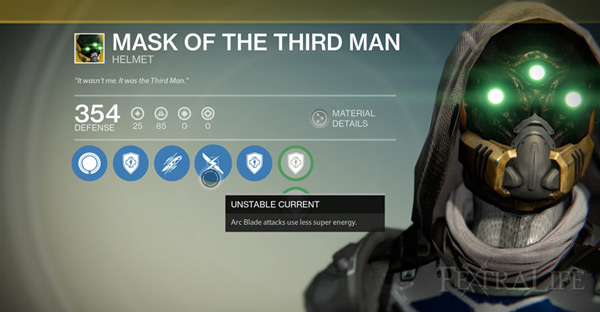 Mask of the Third Man