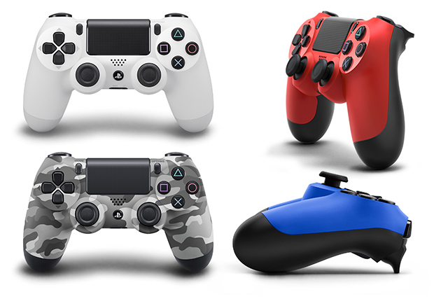Dualshock 4 In Different Colors