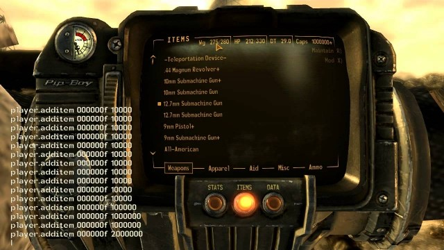 fallout 4 how to tune the game cheats with batch file