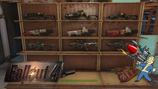 How To Create Weapon And Armor Racks Fallout 4