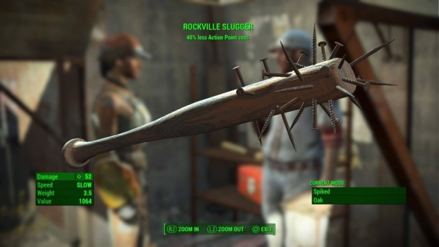 Fallout 4 Melee Weapon