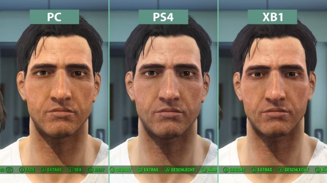 Fallout 4 ps4 patch 1. 10 gameplay update / frame rate test (no.