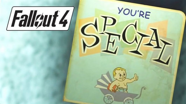 Fallout 4 Permanent Special Point