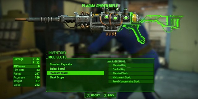 Fallout  Infinite Weapon Crafting