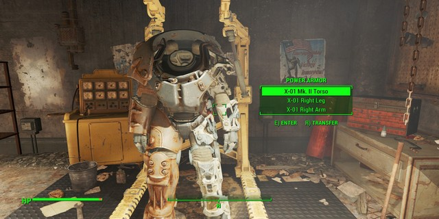 fallout 4 how to get companions in power armor