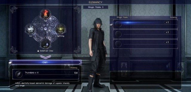 FFXV Best Powerful Spells Cómo crear