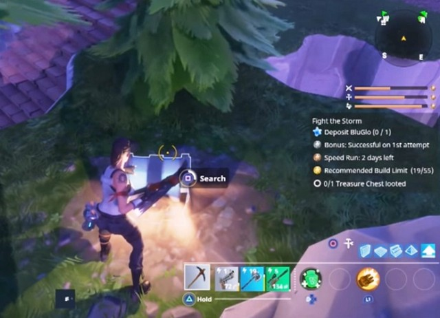 Fortnite where to find treasure chest and safe for Chair in fortnite