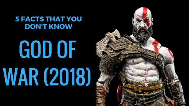 God of War (PS4) Facts That You Don't Know