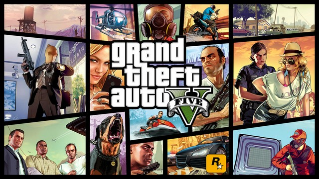 GTA V PC Box Art