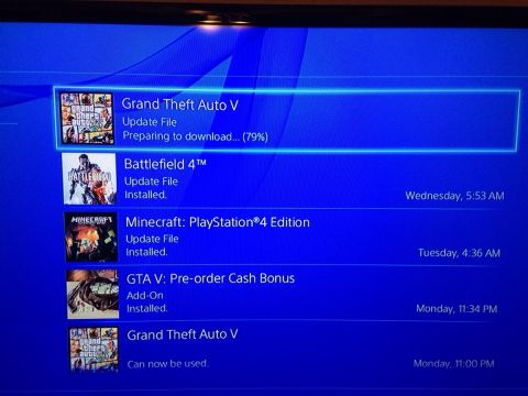 GTA V Patch 1.03 Live Now on PS4