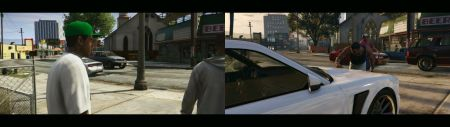 GTA V PS3 vs PS4