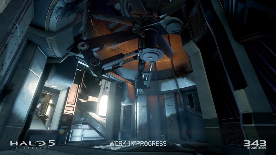 Halo 5: Guardians Xbox One Beta Multiplayer Maps Screenshots