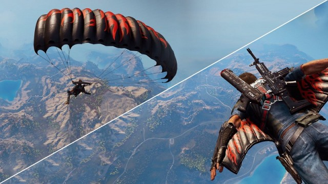 just cause 3 how to get a jetpack