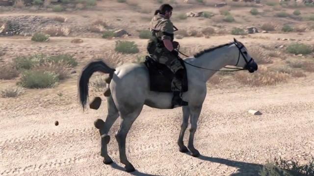 MGS V: The Phantom Pain Horse Poop Guie