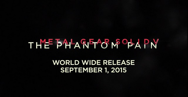 Metal gear phantom pain release date in Australia