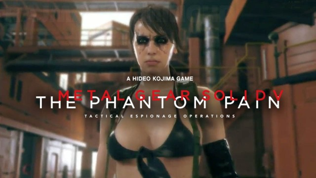 MGS V: The Phantom Pain Quiet Boss Battle