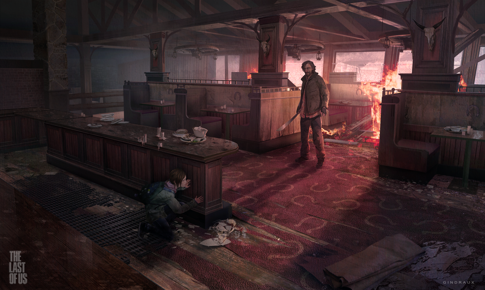 Astonishing Personal Artwork from Naughty Dog Concept