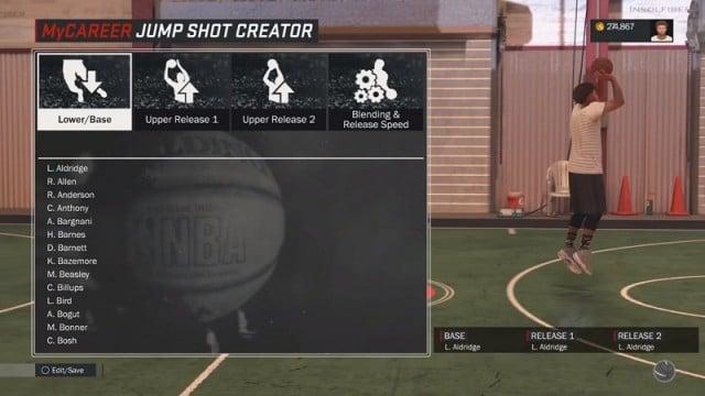 How To Unlock Custom Jumpshots Creator