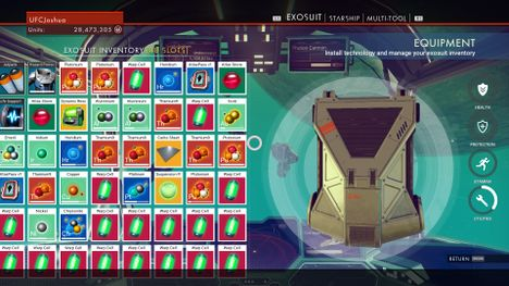 No Man S Sky How To Get All Exosuit Inventory Slots Early