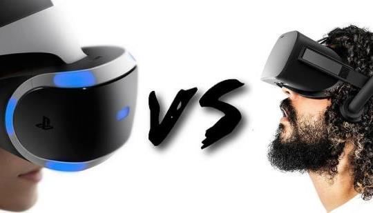 PlayStatiob VR vs Oculus Rift
