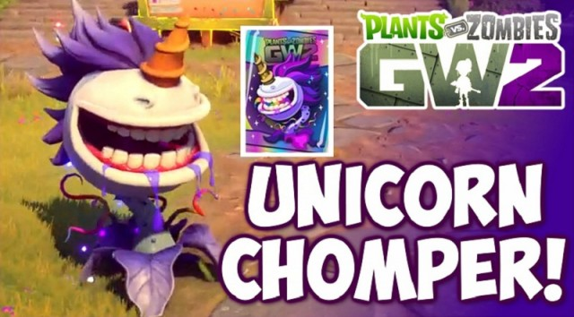 How To Unlock The Legendary Unicorn Chomper In Plants Vs Zombies Garden Warfare 2