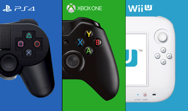 Wii U vs PS4 vs Xbox One