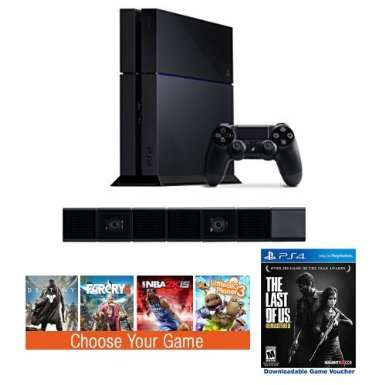 Amazonu0027s PlayStation Holiday Deal: Buy PS4 For $399 And Get PS4 Camera Plus  Two Free Games