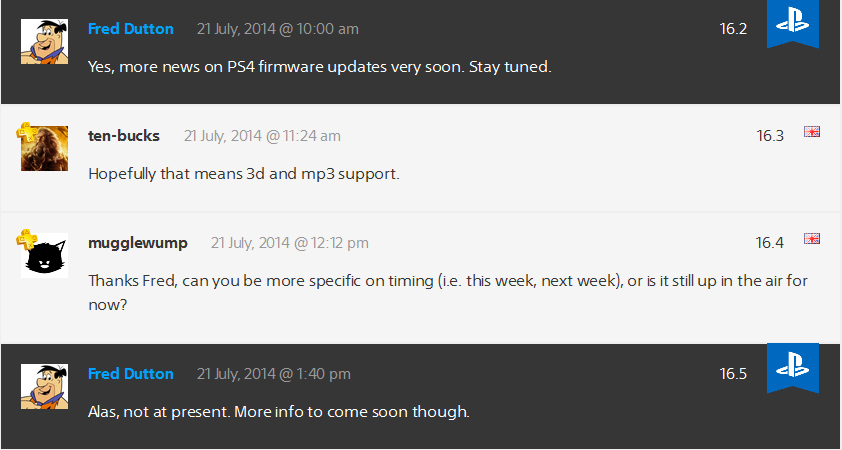 PS4 Firmware Info Incoming