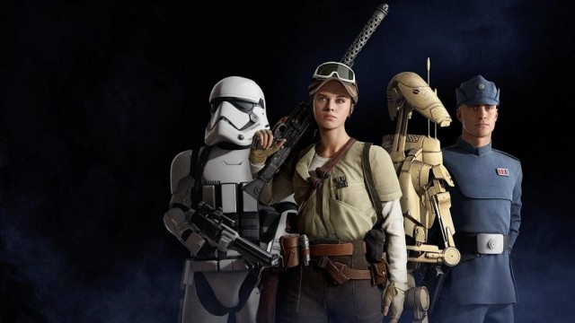 Star Wars Battlefront II Classes Weapons Heroes