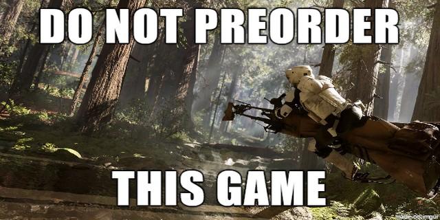 Stars Wars: Battlefront Beta Blunders