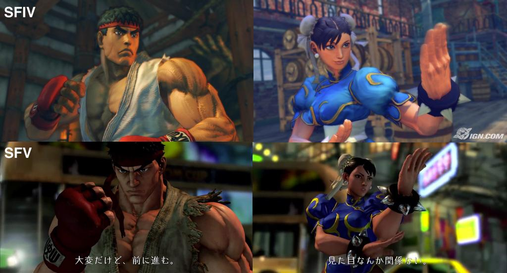 Programa 8x10 (05-12-2014) 'Bayonetta 2' Street-fighter-V-vs-Street-Figter-IV-comparison-screenshot
