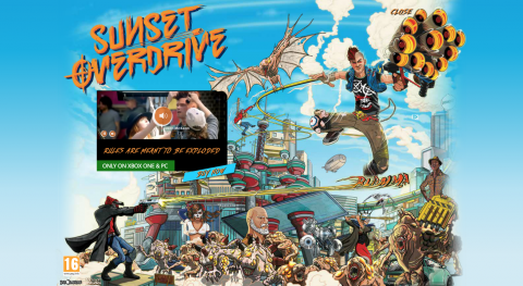 Sunset Overdrive Ad Confirms PC Port