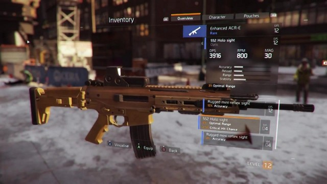 Tom Clancy S The Division Lmg Build