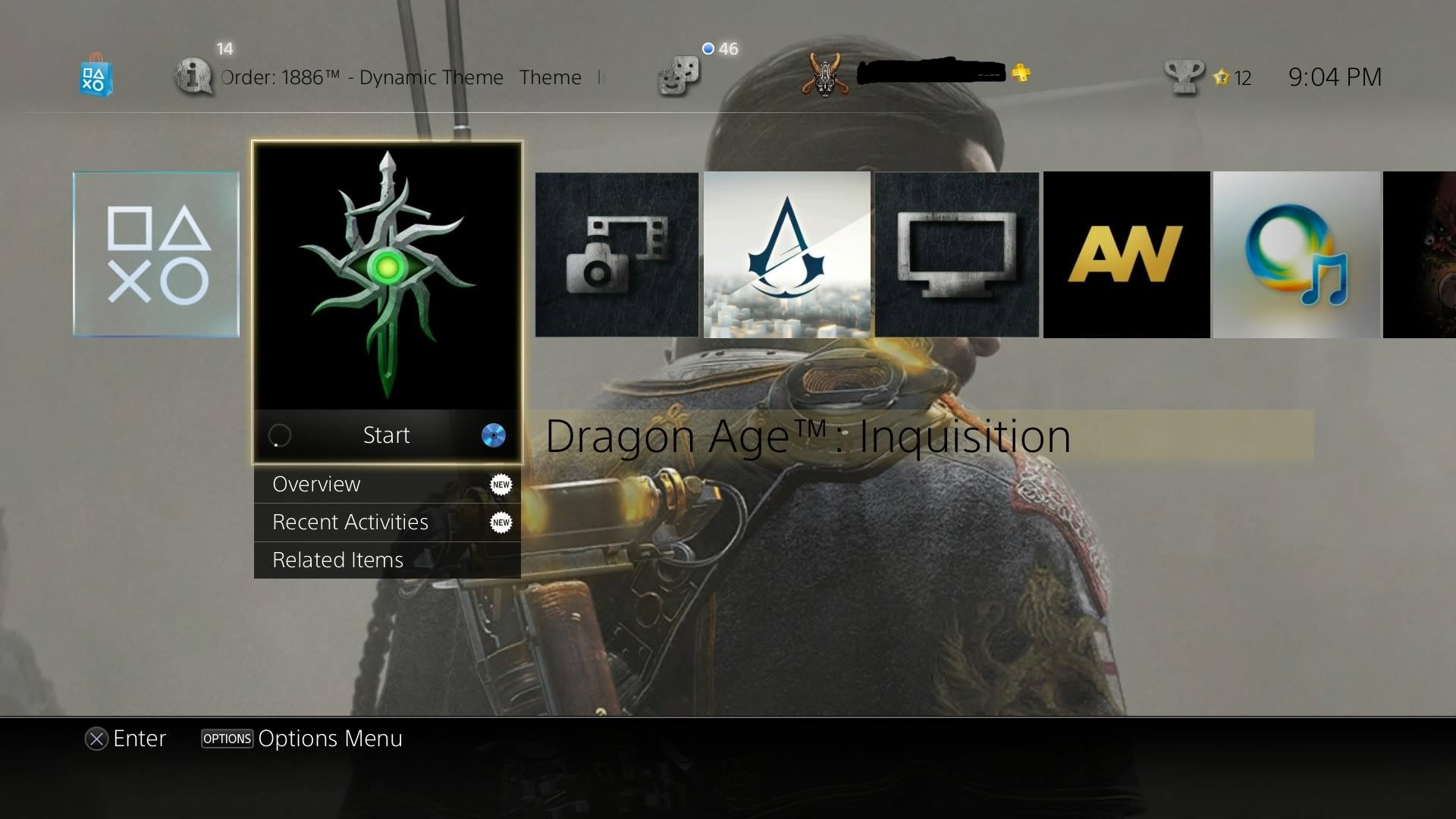The Order: 1886 PS4 Dynamic Theme Looks Stunning, First