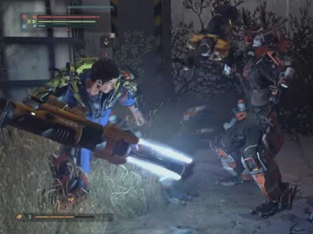 The Surge Combat Style