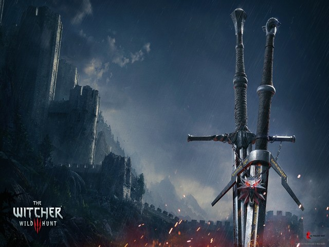 The Witcher 3: Wild Hunt Serpentine Steel and Silver Swords