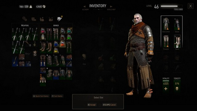 Armor Dyes Location Guide Witcher 3 Blood And Wine