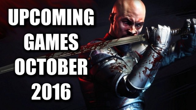 10 Amazing Games in October 2016