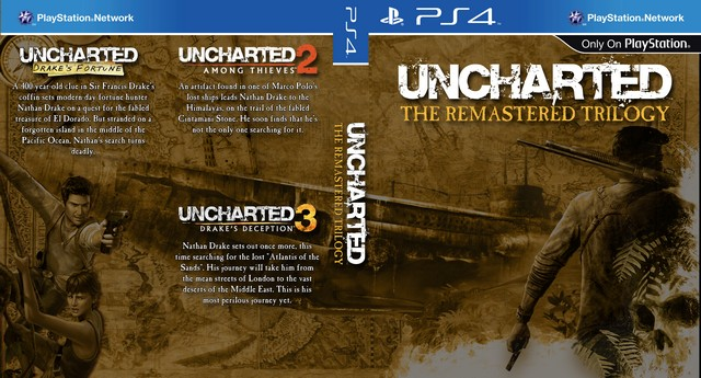 Uncharted HD Remastered Trilogy PS4