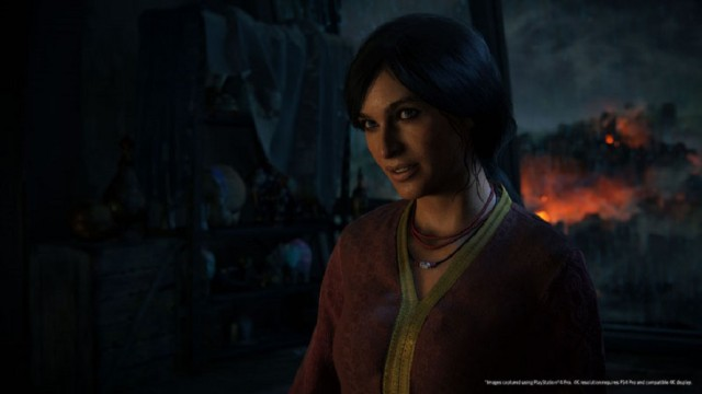uncharted lost legacy trophies