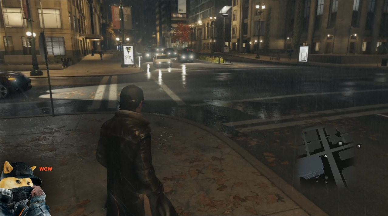 Watch Dogs Direct-Feed Gameplay PS4 screen 1