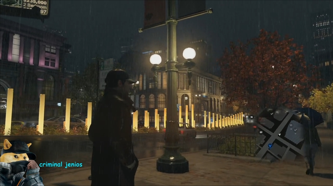 Watch Dogs Direct-Feed Gameplay PS4 screen 2