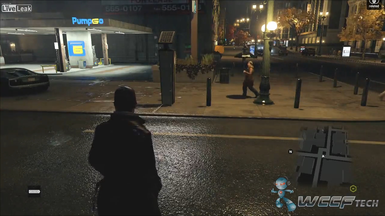 Watch Dogs Xbox One Review Build Screen 2