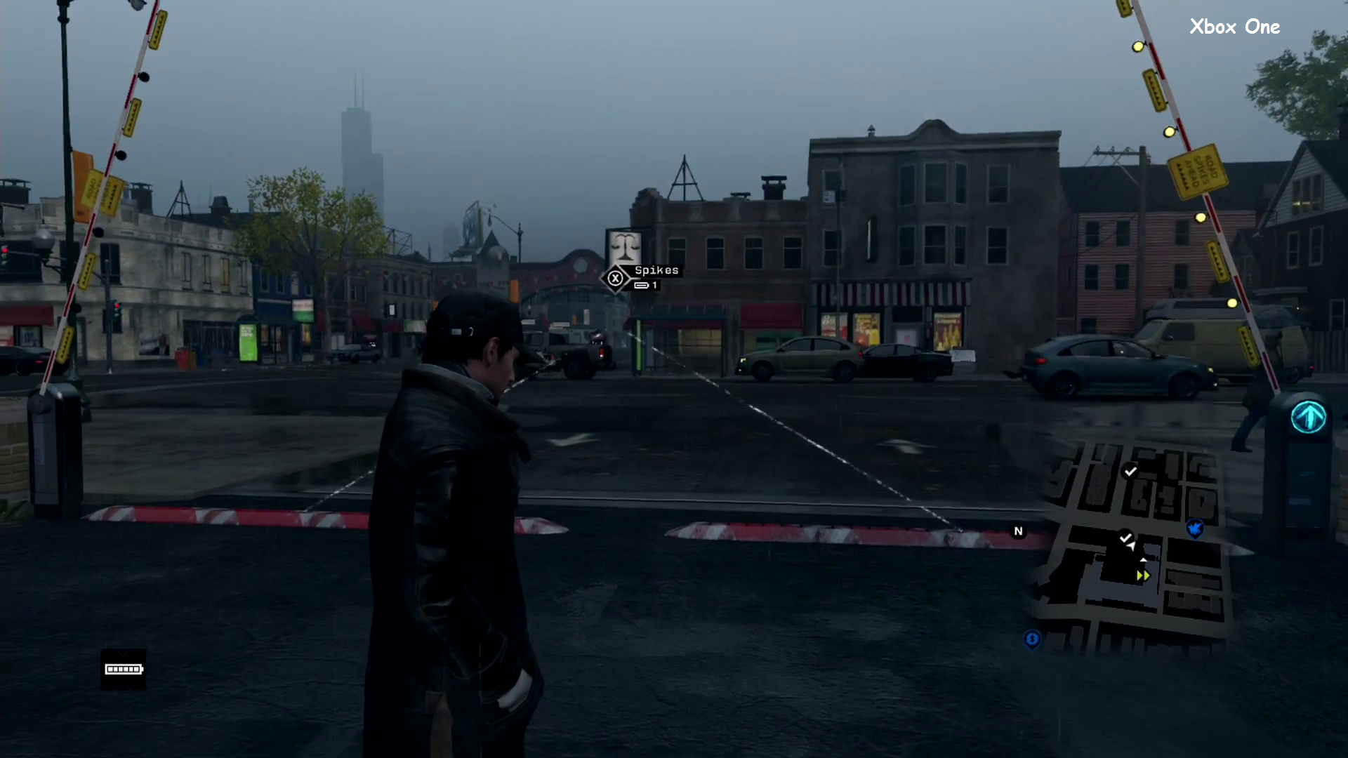 Watch Dogs Direct-Feed Gameplay Xbox One