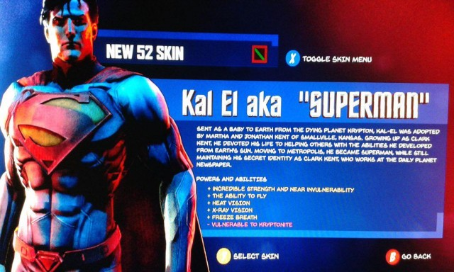 Warner Bros' Superman Game Leaked Screenshot