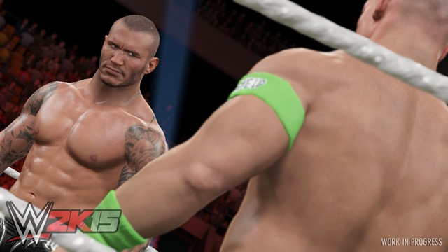 new wwe 2k15 ps4xbox one 1080p screens shows randy orton