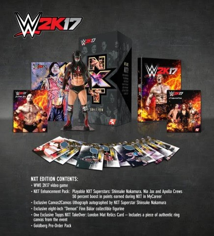 'WWE 2K17' Will Have A Special NXT Collector's Edition
