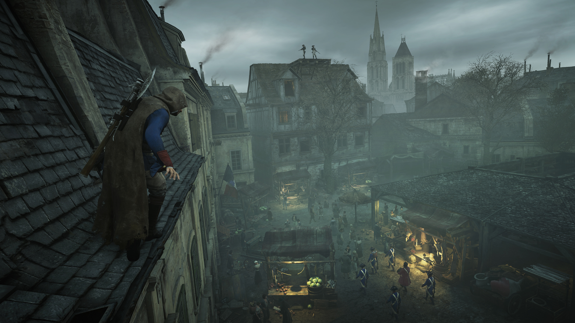 Grim Looking Assassin S Creed Unity Dead Kings Dlc
