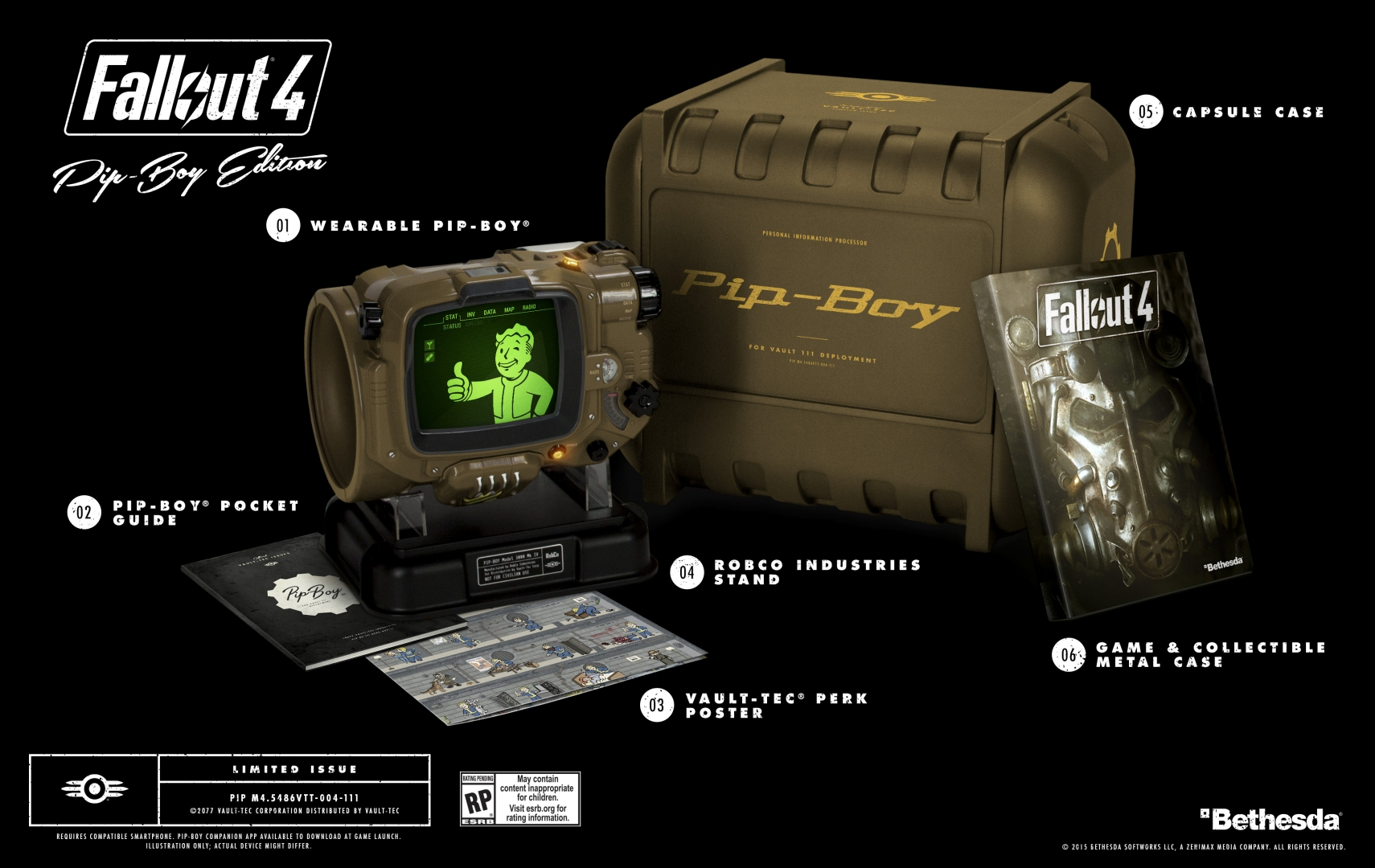 Fallout 4 pipboy edition available for pre-order at amazon for $120.