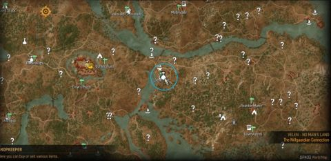 Witcher 3: Saddlebags Upgrades Map Location